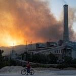 Pożary w Turcji zagrażają elektrowni