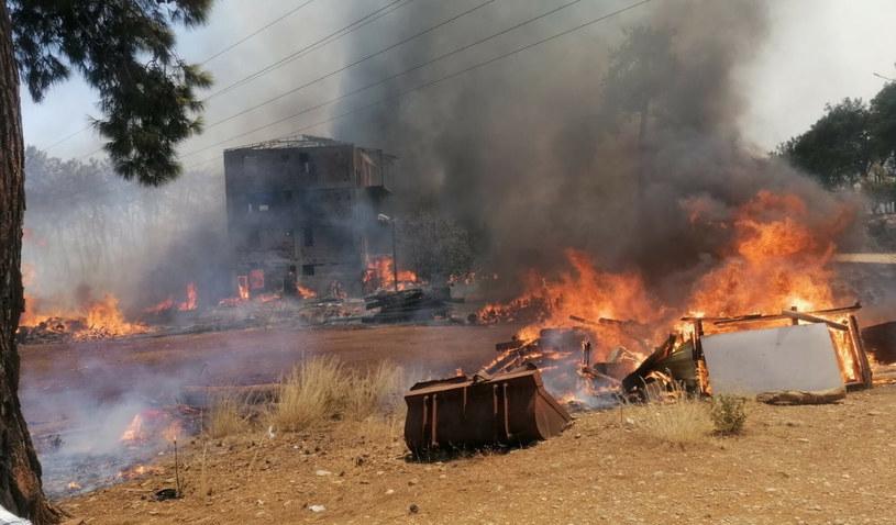 Pożary w Turcji /IHA/Associated Press/East News /East News