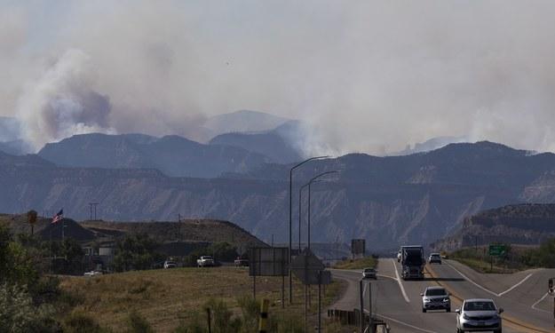 Pożary w Utah /JUSTIN LANE /PAP/EPA