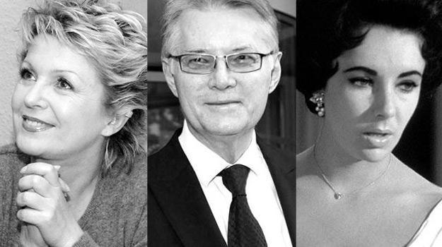 Pożegnaliśmy m.in. Gabrielę Kownacką, Krzysztofa Kolbergera i Elizabeth Taylor, fot. AKPA i AFP /