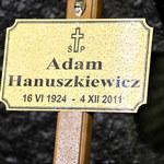 Pożegnanie Adama Hanuszkiewicza