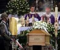 Pożegnanie Czesława Miłosza /AFP