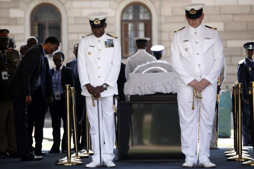 Pożegnanie Nelsona Mandeli /AFP
