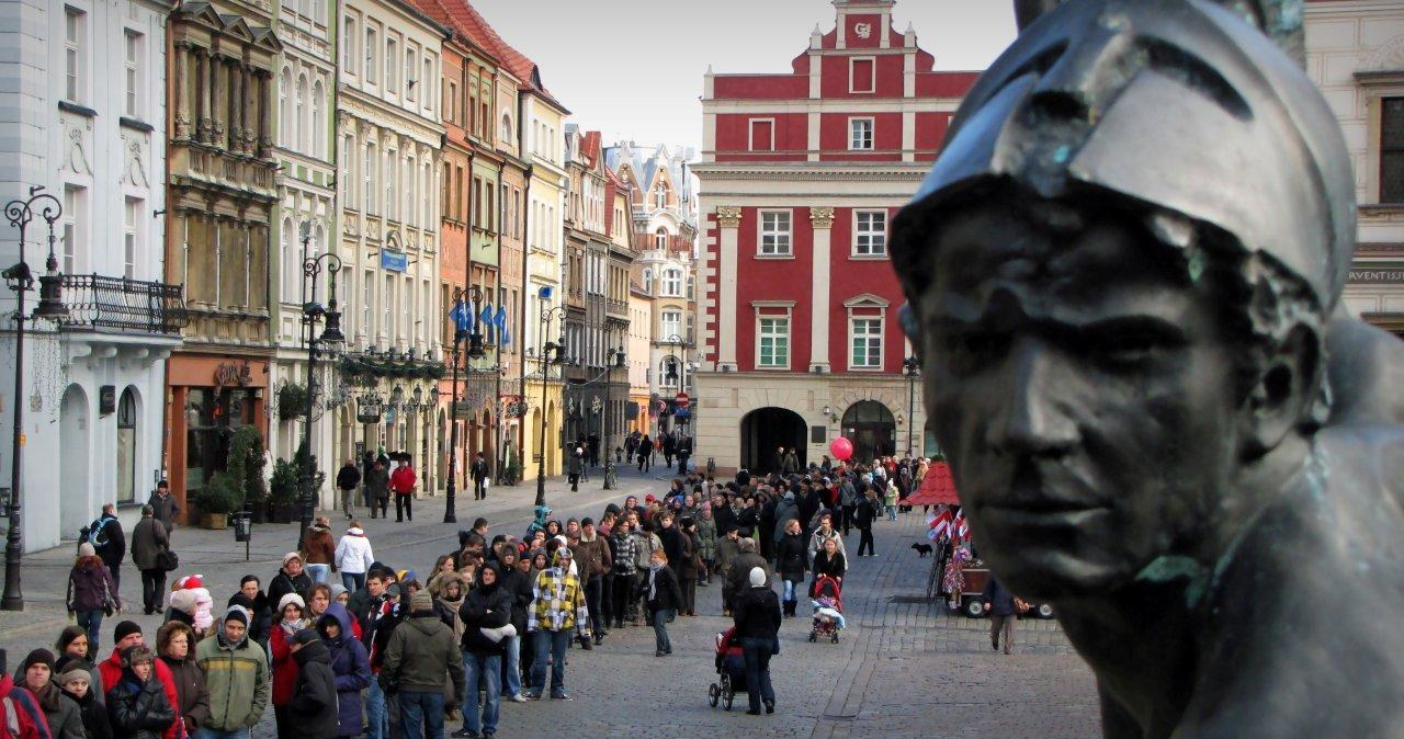 Poznań choinką i kolędami stoi