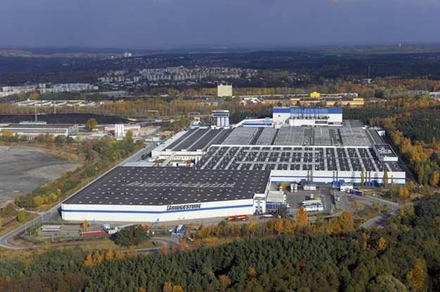 Poznańska fabryka Bridgestone /