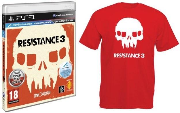 Pozostałe nagrody - Resistance 3 oraz koszulka z motywem z gry /Informacja prasowa
