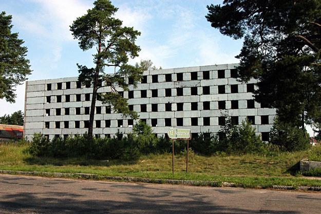 Pozostałości po radzieckiej jednostce wojskowej w Bornem Sulinowie /fot. Leszek Wróblewski