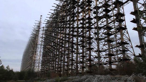 Pozostałości radaru Duga w rejonie Czarnobyla /YouTube