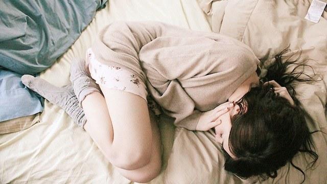 pozycja embrionalna /© Photogenica