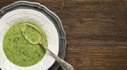 Pożywna zupa szpinakowa