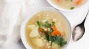 Pożywna zupa z kaszą pęczak