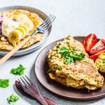 Pożywny omlet owsiany