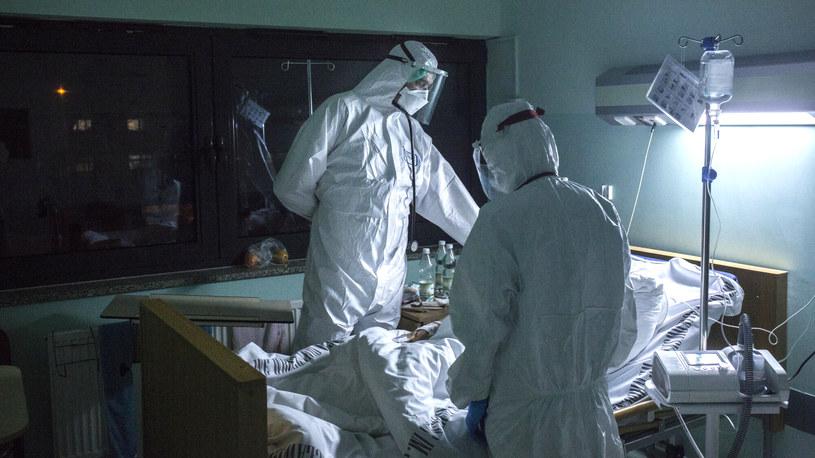 Praca medyków w czasie pandemii koronawirusa /Marek M Berezowski/REPORTER /Reporter