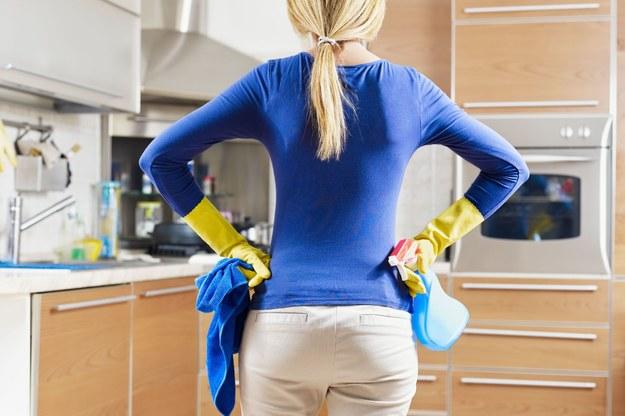 Praca przy sprzątaniu to bez wątpienia jedno z najpopularniejszych zajęć wśród Polek zatrudnionych w krajach skandynawskich /123RF/PICSEL