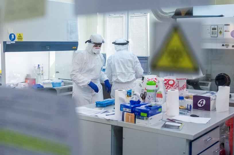 Praca w laboratorium poznańskiego sanepidu, zdjęcie ilustracyjne /LUKASZ GDAK/Polska Press/GALLO IMAGES /East News