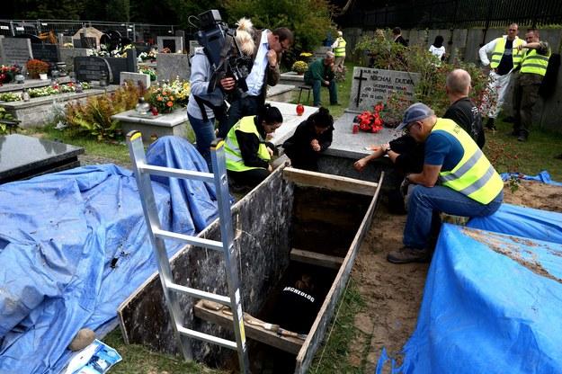 Prace ekshumacyjne na tzw. Łączce zostaną dokończone