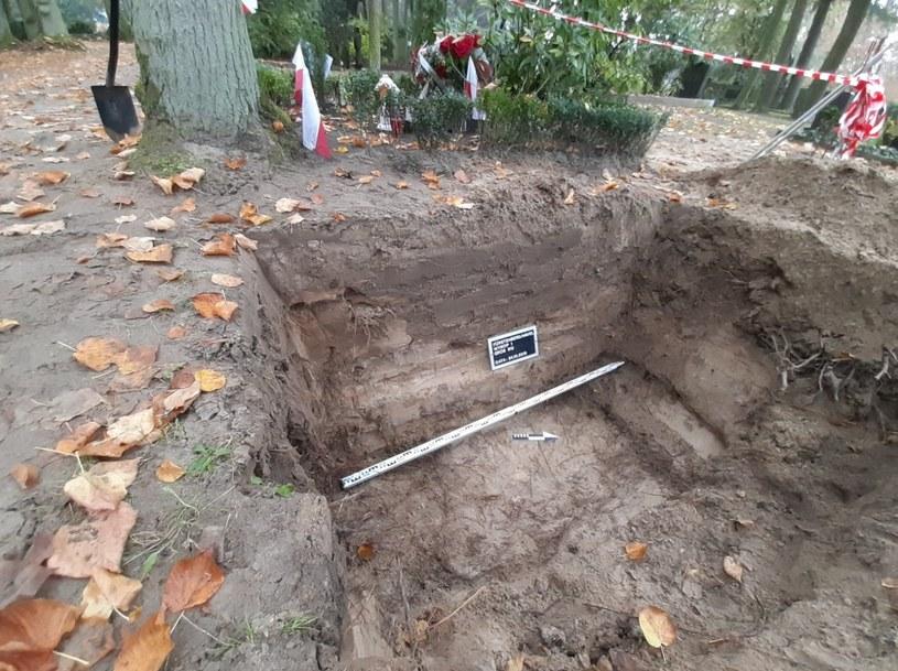 Prace na cmentarzu w miejscowości Fürstenberg /IPN