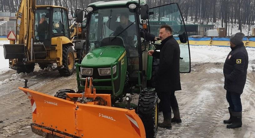 Prace na stadionie w Rybniku /ROW Rybnik /materiały prasowe