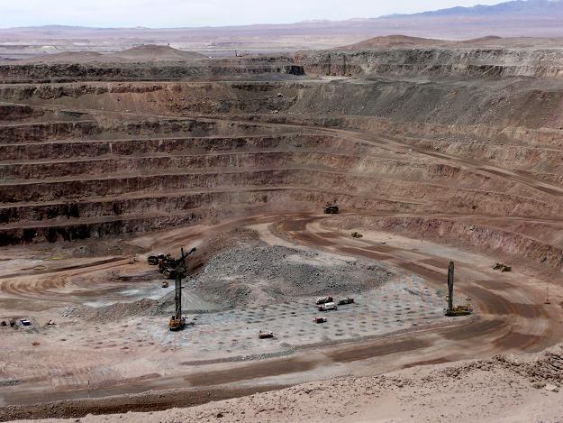 Prace w kopalni Sierra Gorda /PAP