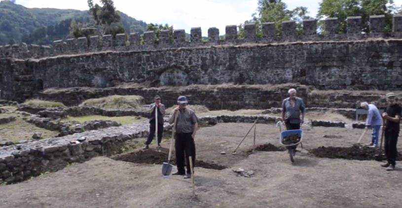 Pracoe prowadzone przez Centrum Archeologii Śródziemnomorskiej UW w forcie Apsaros, 2016 r. /YouTube