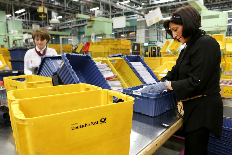 Pracownice Deutsche Post /fot. Hannelore Foerster /Getty Images