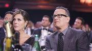 Pracownicy australijskiej telewizji poddani kwarantannie po wizycie żony Toma Hanksa