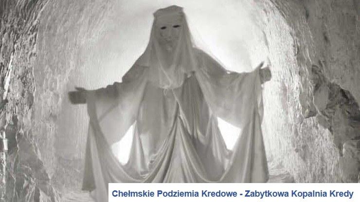 Pracownicy Chełmskich Podziemi Kredowych nie rozliczali wszystkich wpływów z biletów. Na zdjęciu główna atrakcja obiektu - Duch Bieluch