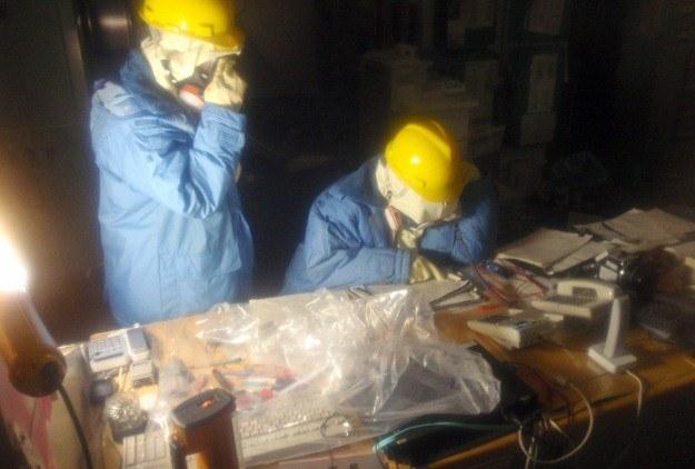 Pracownicy elektrowni ryzykują życie, by nie dopuścić do pogłębienia kryzysu nuklearnego w Japonii /AFP