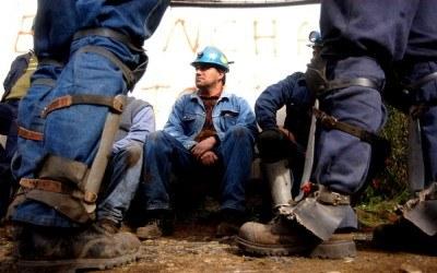 Pracownicy kopalni w Chile - zdjęcie /AFP