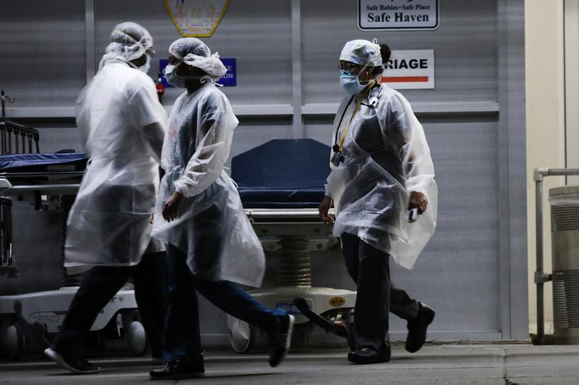 Pracownicy medyczni w Nowym Jorku, zdj. ilustracyjne /Spencer Platt /Getty Images