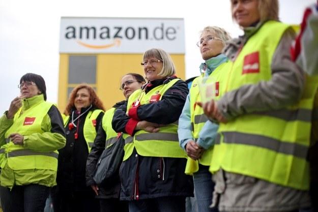 Pracownicy niemieckiego Amazona strajkowali. W Polsce obejdzie się bez tego? /AFP