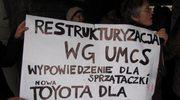 Pracownicy UMCS przeciw zwolnieniom