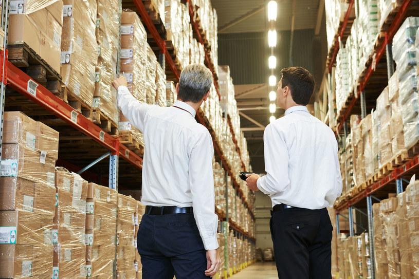 Pracownicy z Ukrainy chętnie zatrudniają się m.in. w magazynach logistycznych (zdj. ilustracyjne) /123RF/PICSEL