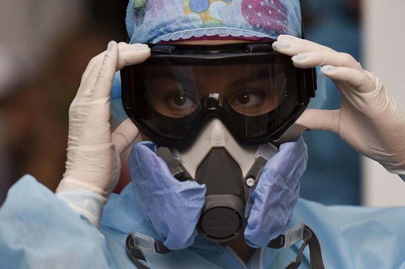 Pracownik medyczny, Wenezuela /AFP