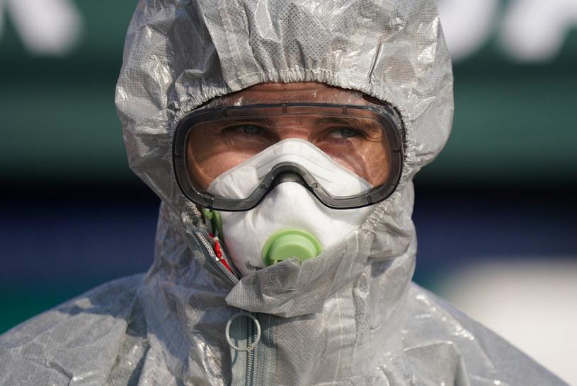 Pracownik medyczny; Zdj. ilustracyjne /Sean Gallup /Getty Images
