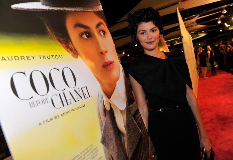 Pracując nad rolą Gabrielle Chanel Audrey Tautou na kilka miesięcy odcięła się od świata.  /Getty Images/Flash Press Media