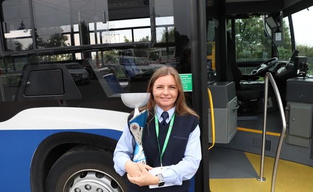 Pracuje od roku, wcześniej jeździła ciężarówką. Monika Kasiak najlepszym kierowcą MPK w Krakowie!
