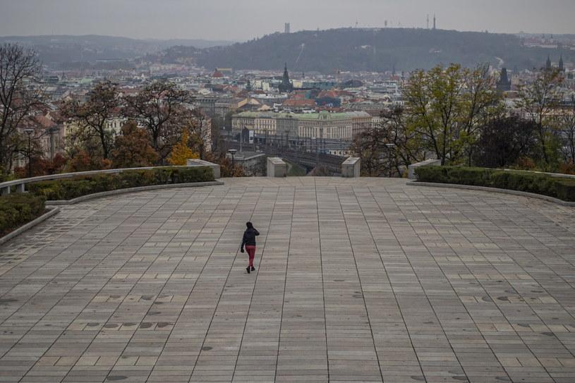 Praga w czasie pandemii koronawirusa /Martin Divisek /PAP/EPA