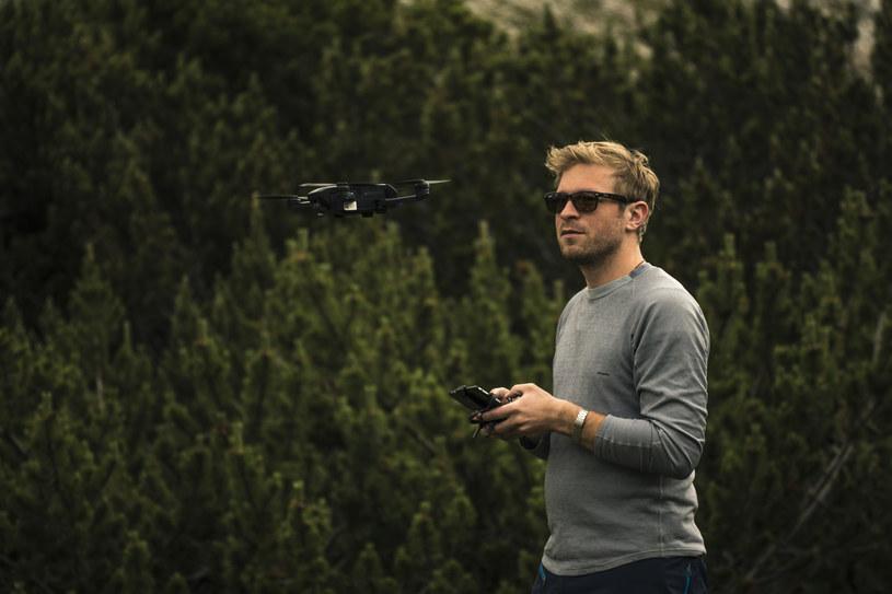 Praktyka to podstawa - także w przypadku latania dronami /materiały prasowe