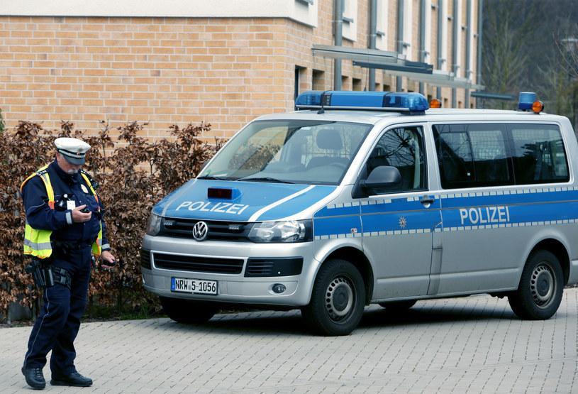 Praktyki niemieckich policjantów wobec Polaków są dyskusyjne /AFP