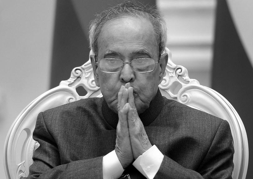 Pranab Mukherjee /AFP