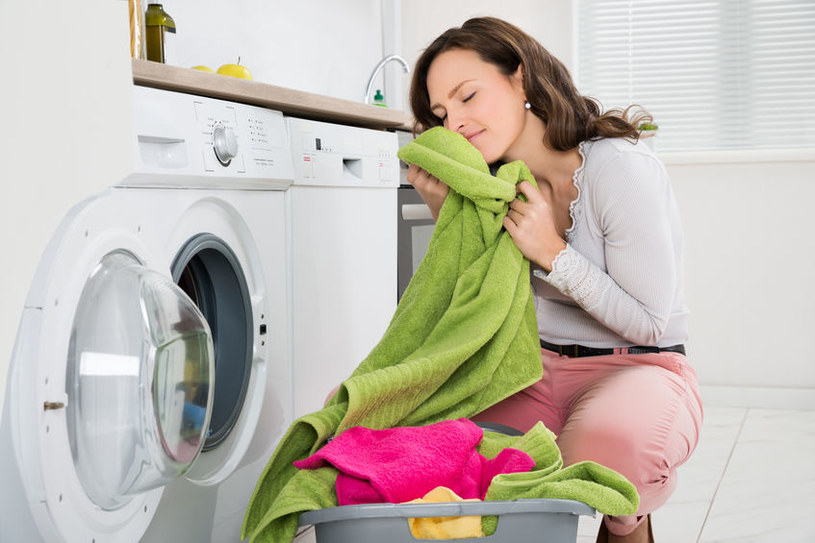 Pranie ręczników /©123RF/PICSEL