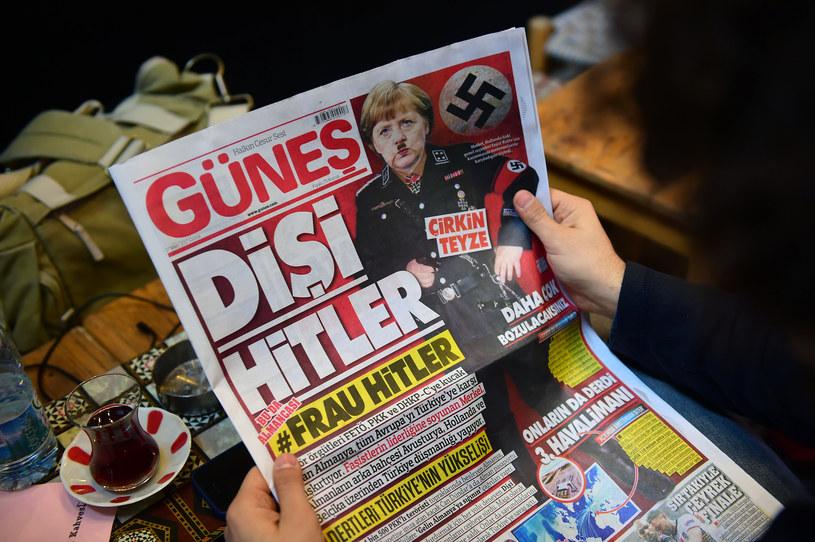 Prasa w Turcji /YASIN AKGUL /AFP