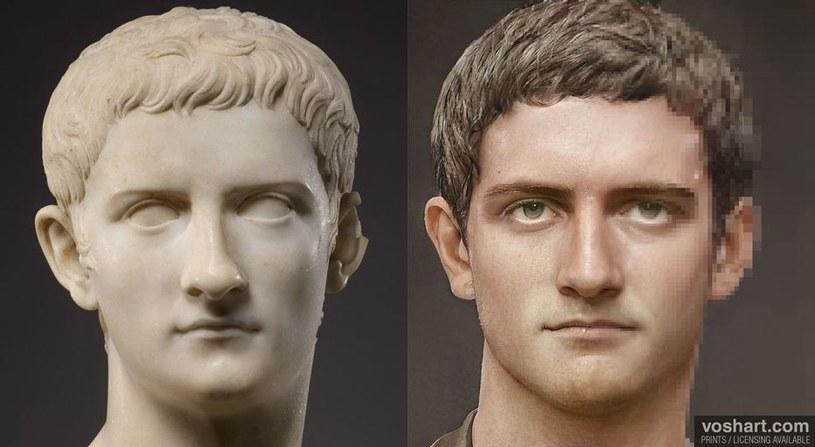 Prawdopodobnie tak właśnie wyglądał cesarz Kaligula /materiały prasowe
