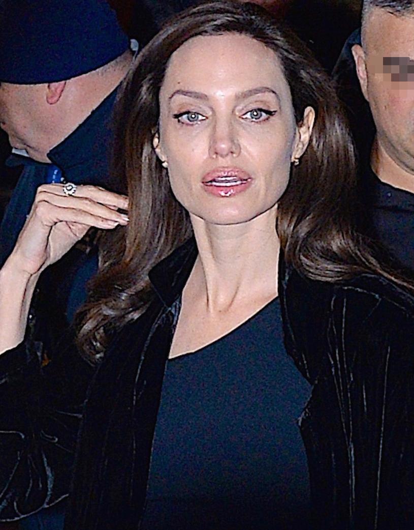 Prawdziwa Angelina Jolie /Gachie / Splash News /East News