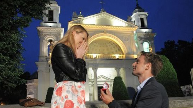 Prawdziwą miłością Przemka była Ludmiła. Niestety, odeszła z powodu śmiertelnej choroby... /www.nadobre.tvp.pl/