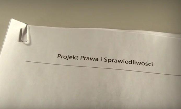 """""""Prawdziwe intencje PiS to Jarosław Kaczyński i nowy projekt konstytucji"""" /&nbsp"""