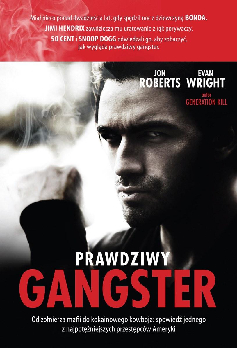 Prawdziwy Gangster trafi do księgarń 23 sierpnia /materiały prasowe