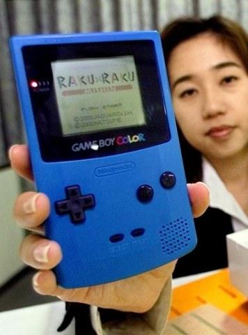 Prawie 10 lat przyszło czekać na premierę Game Boy'a z kolorowym wyświetlaczem /AFP