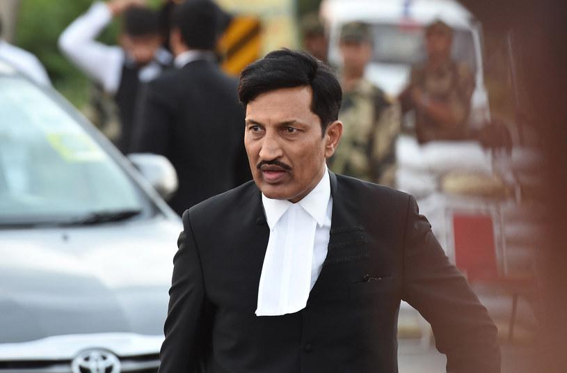 Prawnik Gurmeeta Rama Rahima Singha /AFP